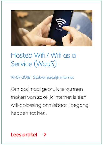 Hosted Wifi / Wifi as a Service (WaaS)