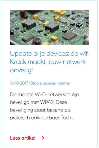 Update al je devices: de wifi Krack maakt jouw netwerk onveilig!