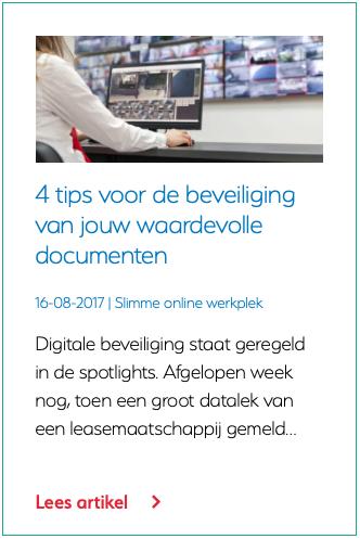 4 tips voor de beveiliging van jouw waardevolle documenten