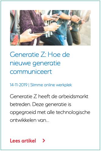Generatie Z Hoe de nieuwe generatie communiceert
