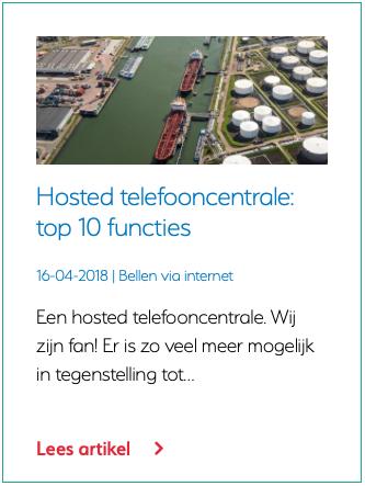 Telefooncentrale vervangen? VoIP Telefooncentrale in de cloud