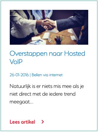 Overstappen naar Hosted VoIP