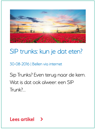 Wat is een SIP trunk?