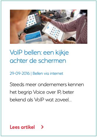 VoIP bellen een kijkje achter de schermen