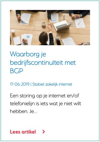Wat is BGP