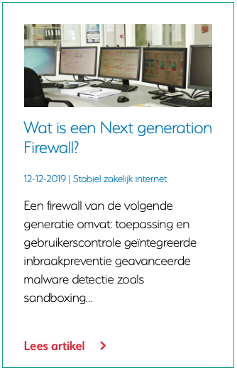 Wat is een Next generation Firewall?