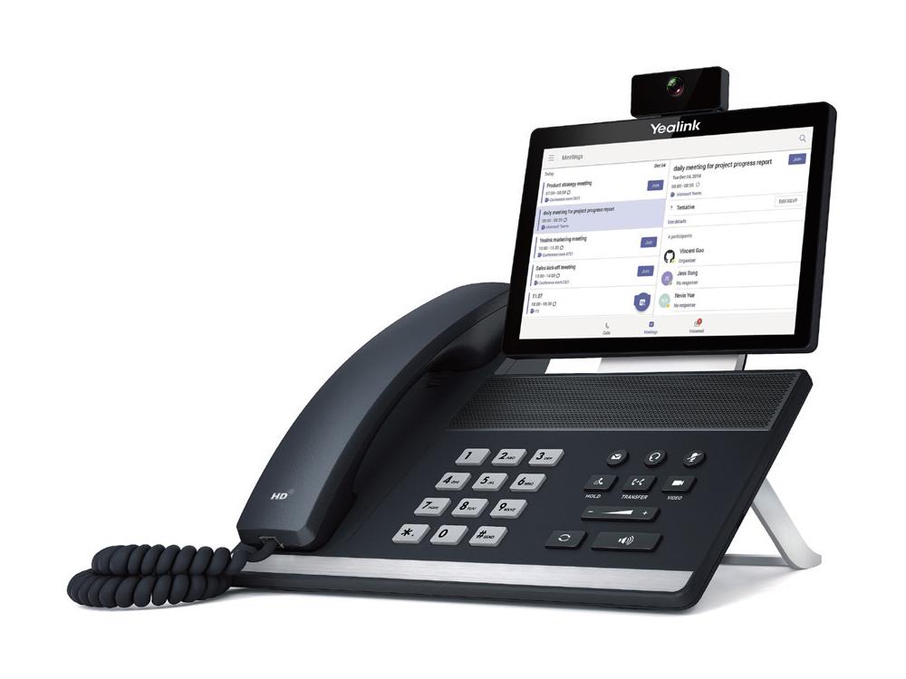 Microsoft Teams toestel YeaLink VP59 IP Videotelefoon