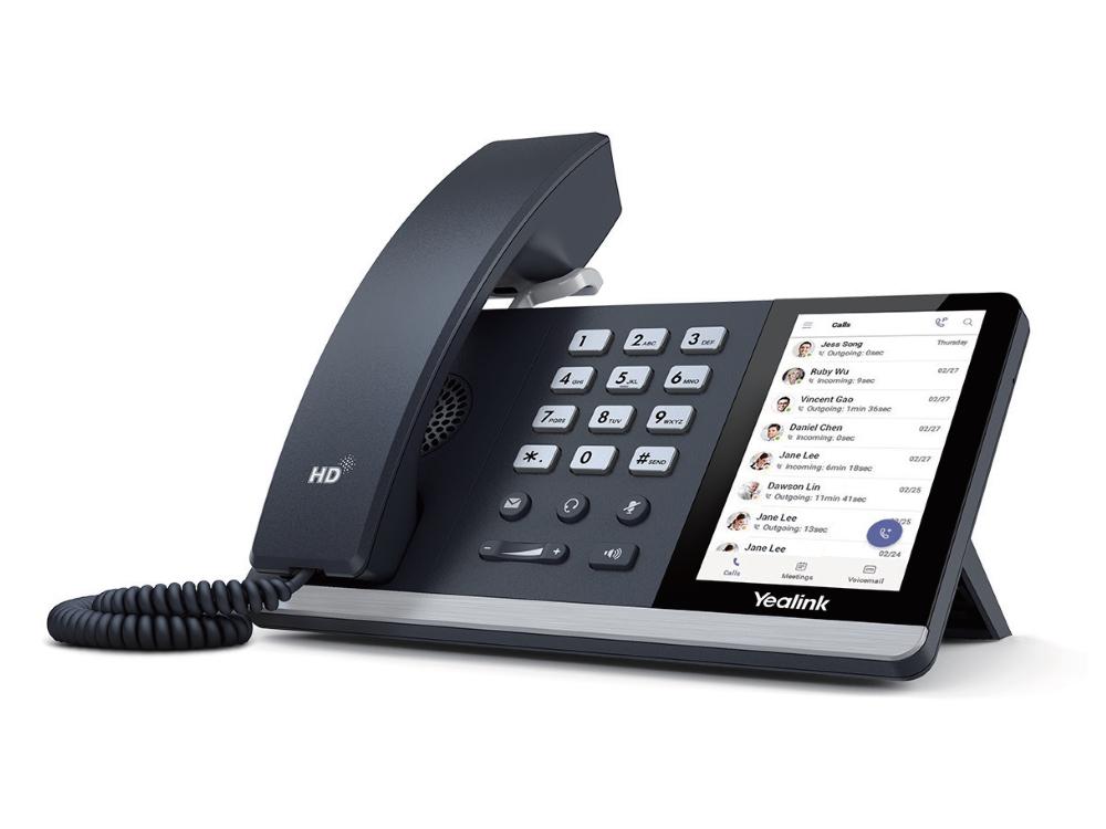 Microsoft Teams toestellen YeaLink SIP-T55A VoIP telefoon