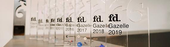 hallo, is voor de tiende keer op rij genomineerd voor de FD Gazellen Awards!