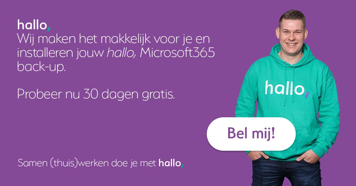 Microsoft365 Back-up