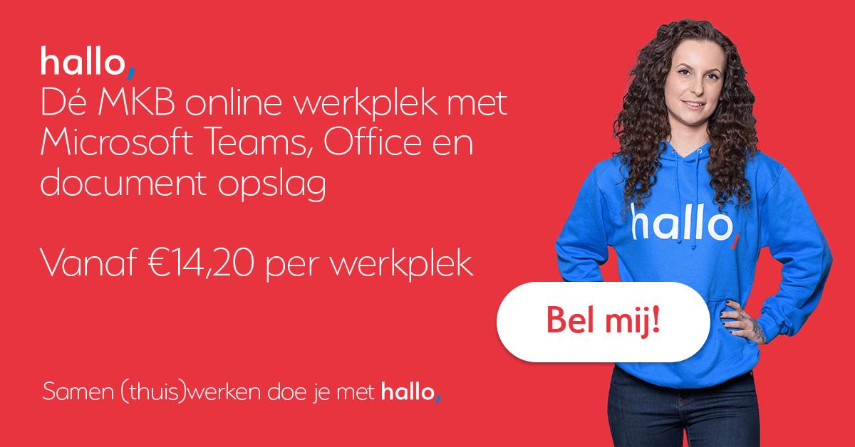 Samenwerken in de online werkplek