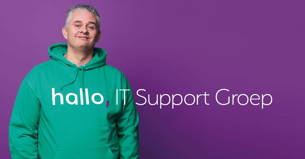 hallo, IT Support Groep