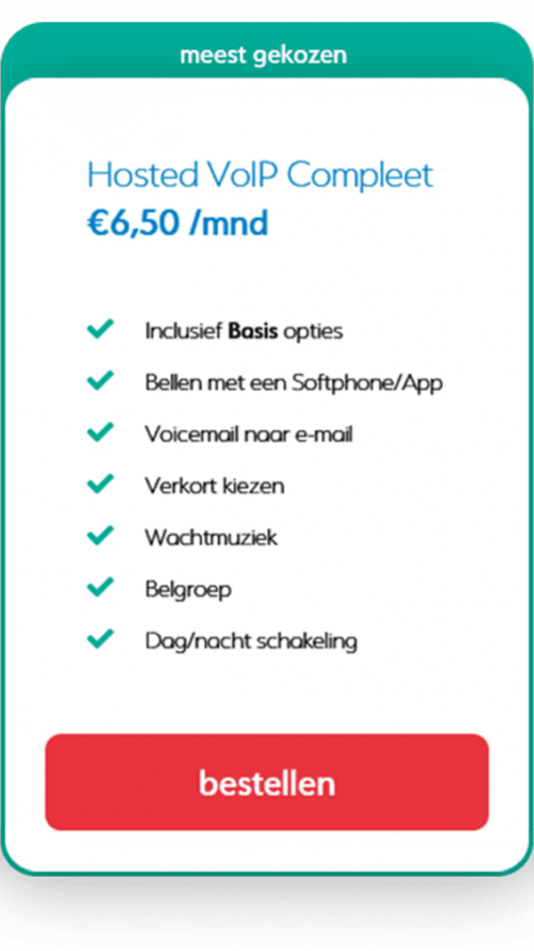 Hosted VoIP compleet